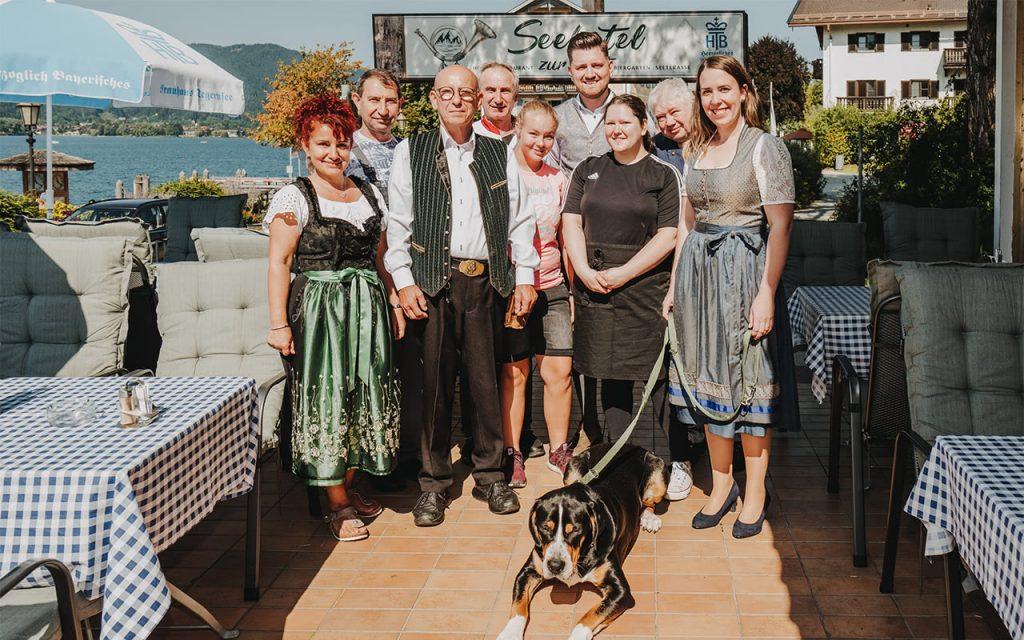 Team des Seehotel zur Post am Tegernsee