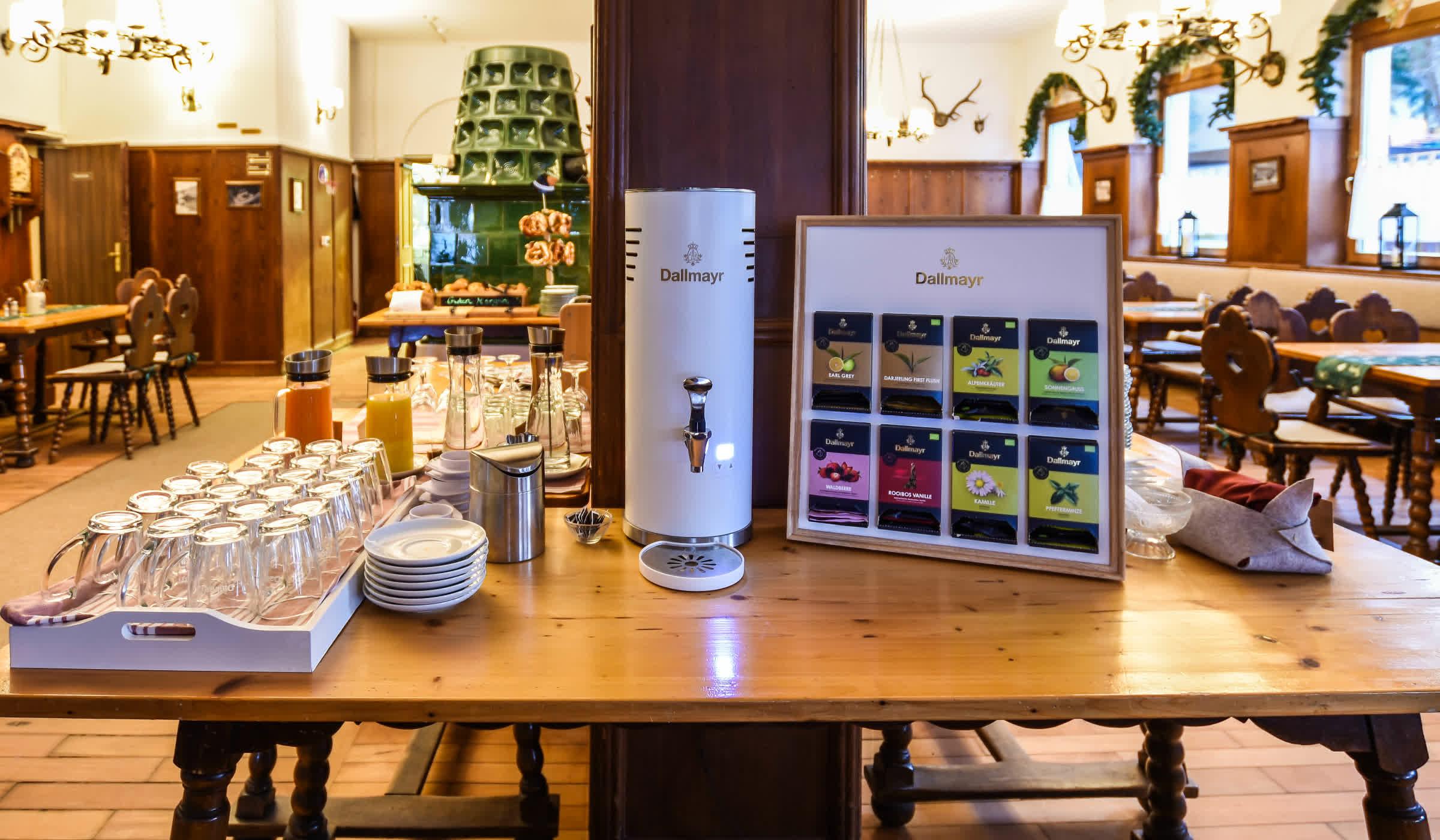 Frühstücksbuffet im Seehotel zur Post